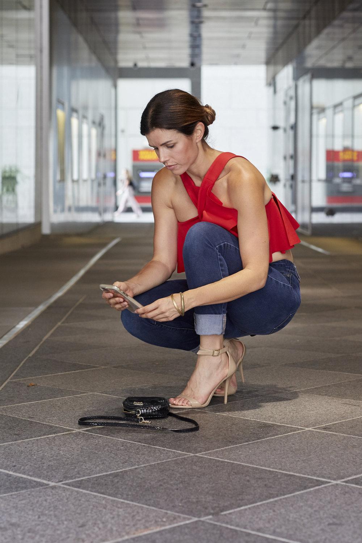 Target ankle heels
