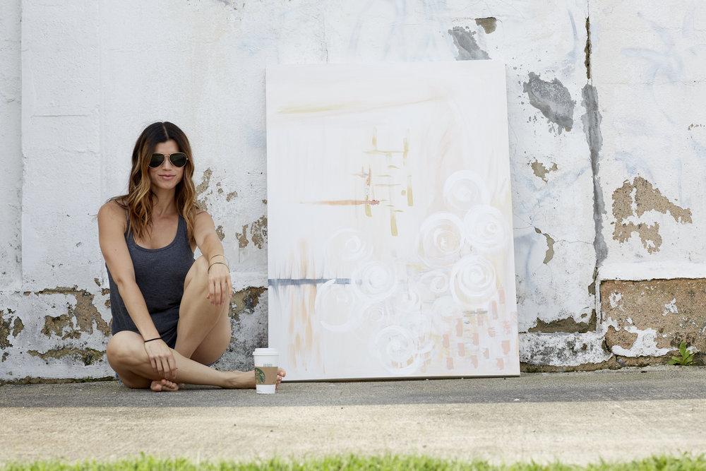 Tessa machen lifestyle blogger artist charlotte nc