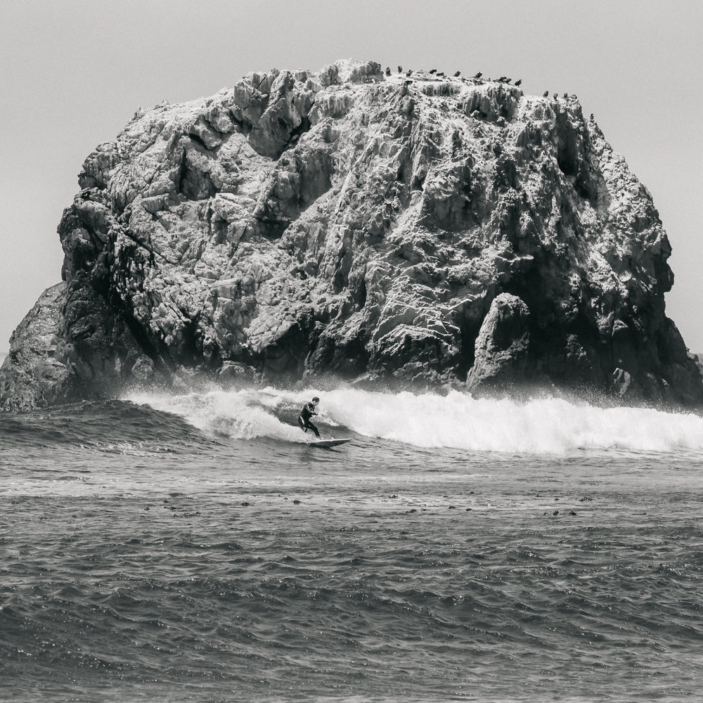 Matt-Sampson-Photography-big-sur-California-Surf-Beach-black-and-white-Alone-at-sea.jpg