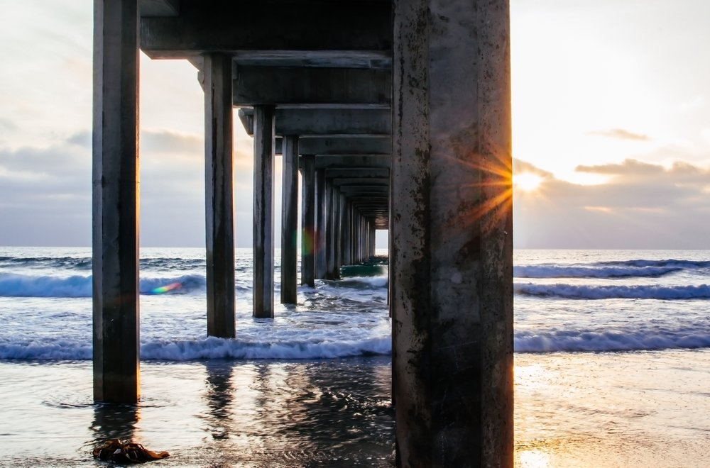 Golden Hour At Scripps Pier.jpg