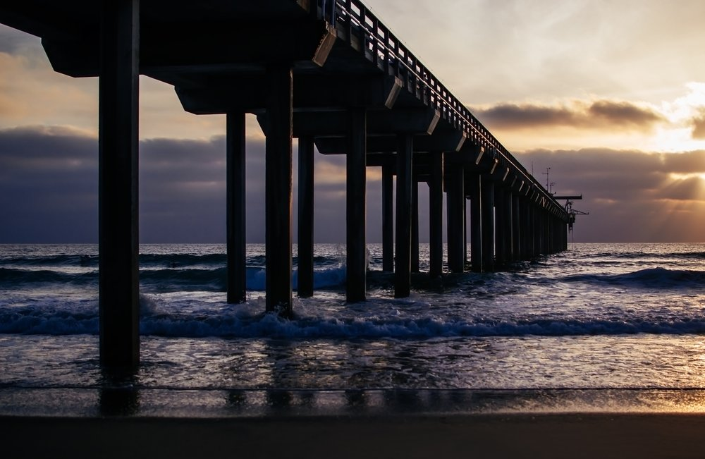 Matt-Sampson-Photography-San-Diego-California-La-Jolla-Beach-Sunset-Scripps-Pier.jpg