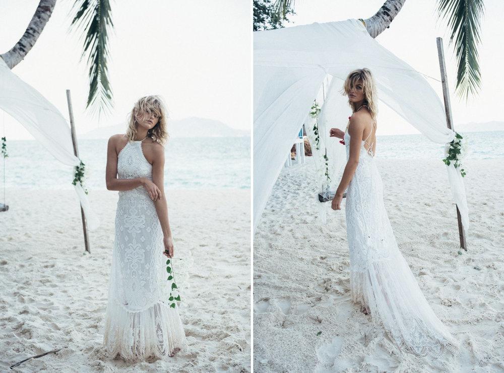 Wedding Dresses Under $1000 - Spell Casablanca Lace Halter Gown.jpg