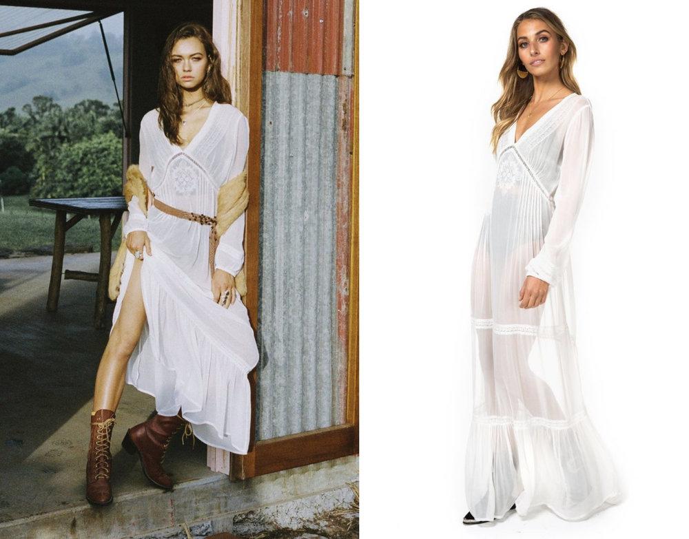 Wedding Dresses Under $1000 - Arnhem Ava Maxi Dress in White.jpg