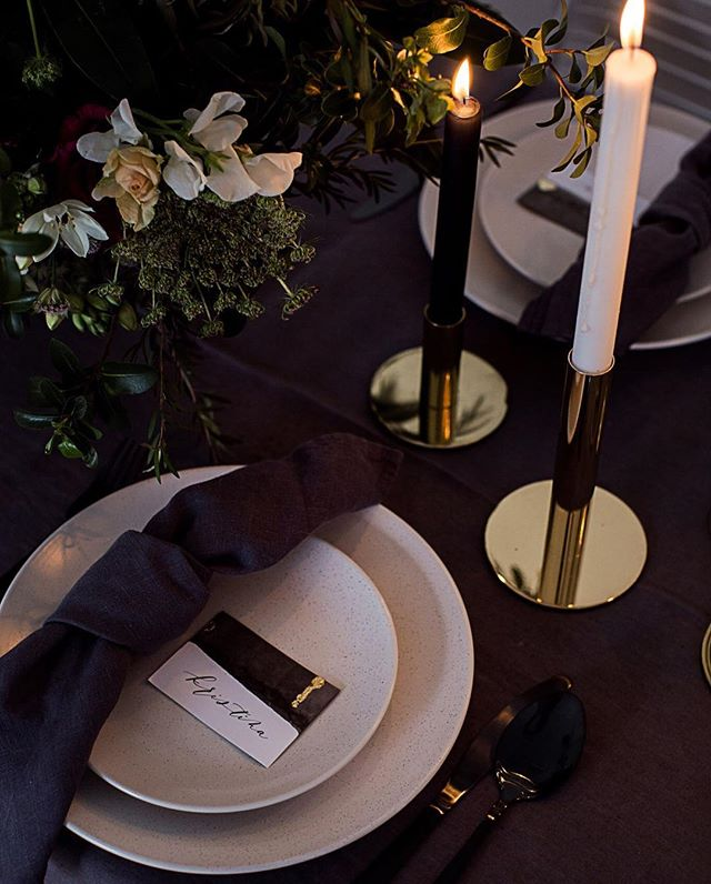 || Sneak peek of our Table Setting images coming soon! || These images will fit perfect for Christmas/New years inspired blog posts or social media posts ✨