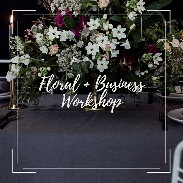 Very excited to announce our Floral Styling + Business Workshop to be held in Brisbane on the 4th of August.  If you have a passion for events, design and styling and would like to learn more about how to add Floral Styling to your services, or launch a business offering Floral Event Styling as a service, this is the workshop for you.  The workshop is also perfect for you whether you are a complete newbie or already working in the industry. I will be hosting this event alongside the talented Amey from @theperfectpartyco and Christine from @WeddingAcademyLive and @i_do_crew Taking incredible pictures of your work will be the super talented Kate of @quincenmulberrry  Find out more and secure you spot here:  https://www.eventbrite.com.au/e/floral-business-workshop-tickets-44620864206