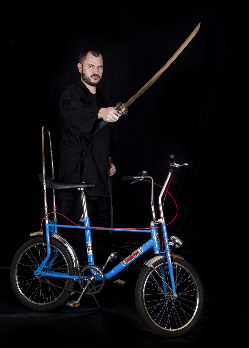 Alex Blumenberg - The Bike Ninja