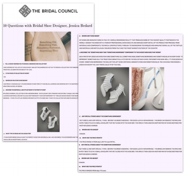 THE BRIDAL COUNCIL  - October 5, 2017