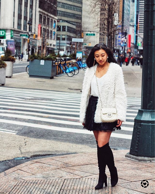 Just trying to stay warm and snuggly in this winter weather. Countdown to NYC begins! http://liketk.it/2zjIU #liketkit @liketoknow.it