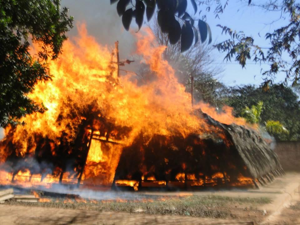 arson paraguay indian guarani pai tavytera