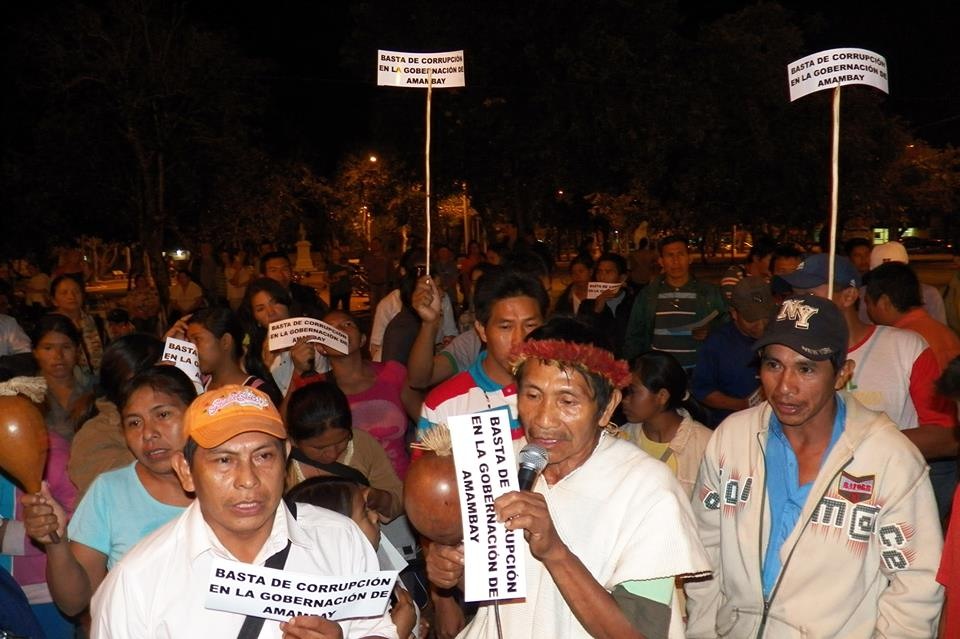 basta de corrupcion paraguay