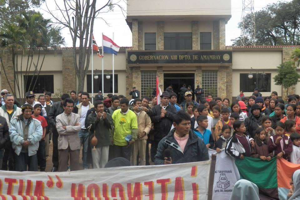 pai tavytera protest paraguay