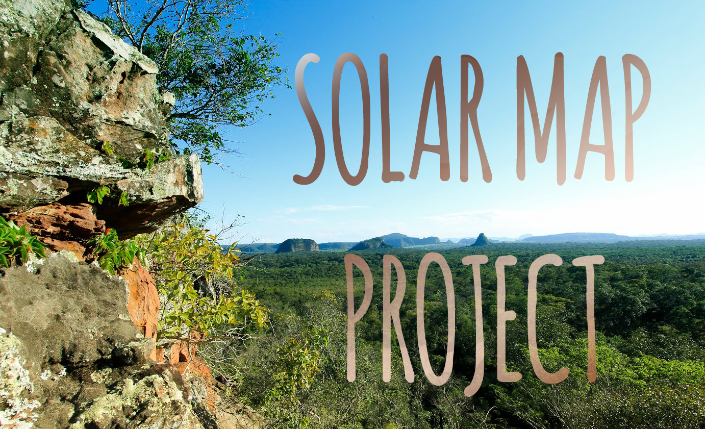solar map project banner