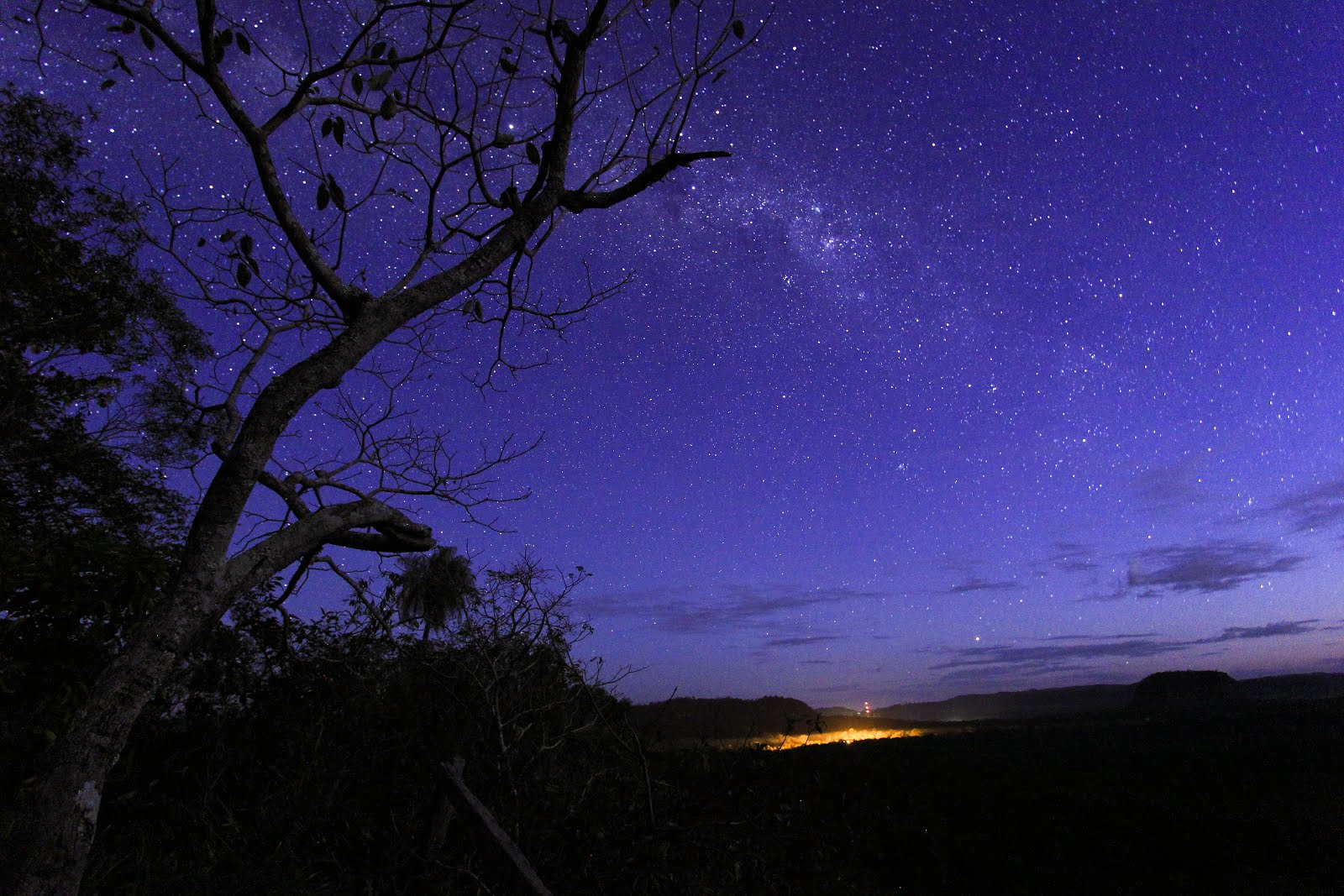 David Farina Milky way from Paraguay Cerro Cora