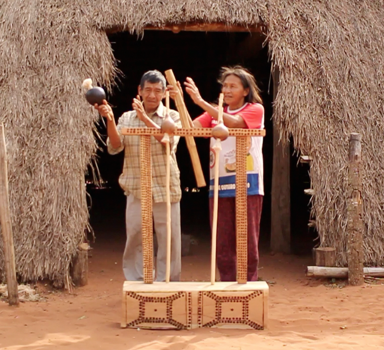 altar pai tavytera indians guarani paraguay