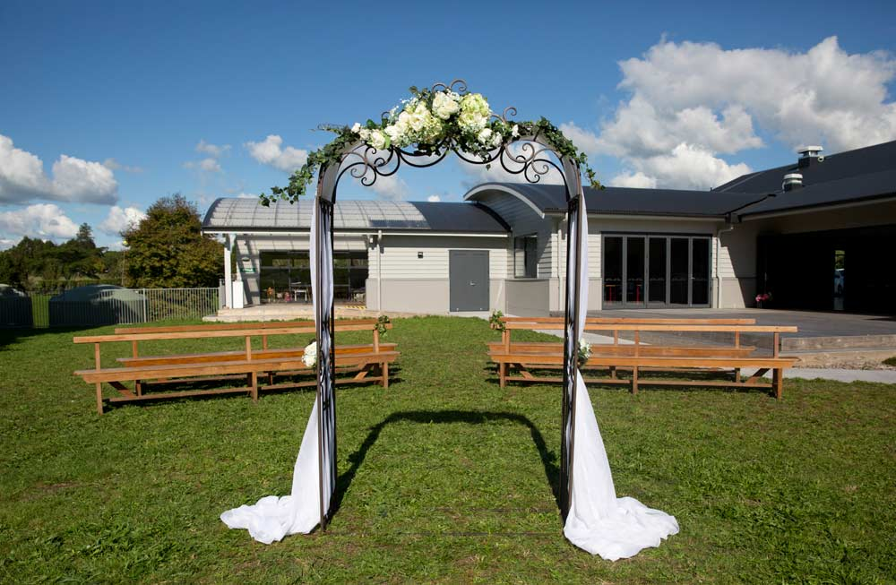 Beautiful outdoor settings for your special ceremony