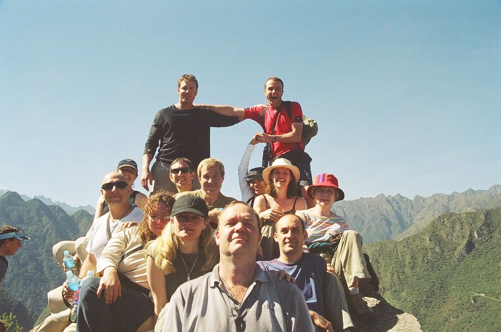 Machu Picchu, Peru (2005) with my Remote Viewing crew including Dr. David Morehouse, David Hughes, Marilyn Buchanan, Nancy Dugan, Myself and a few of our friends.