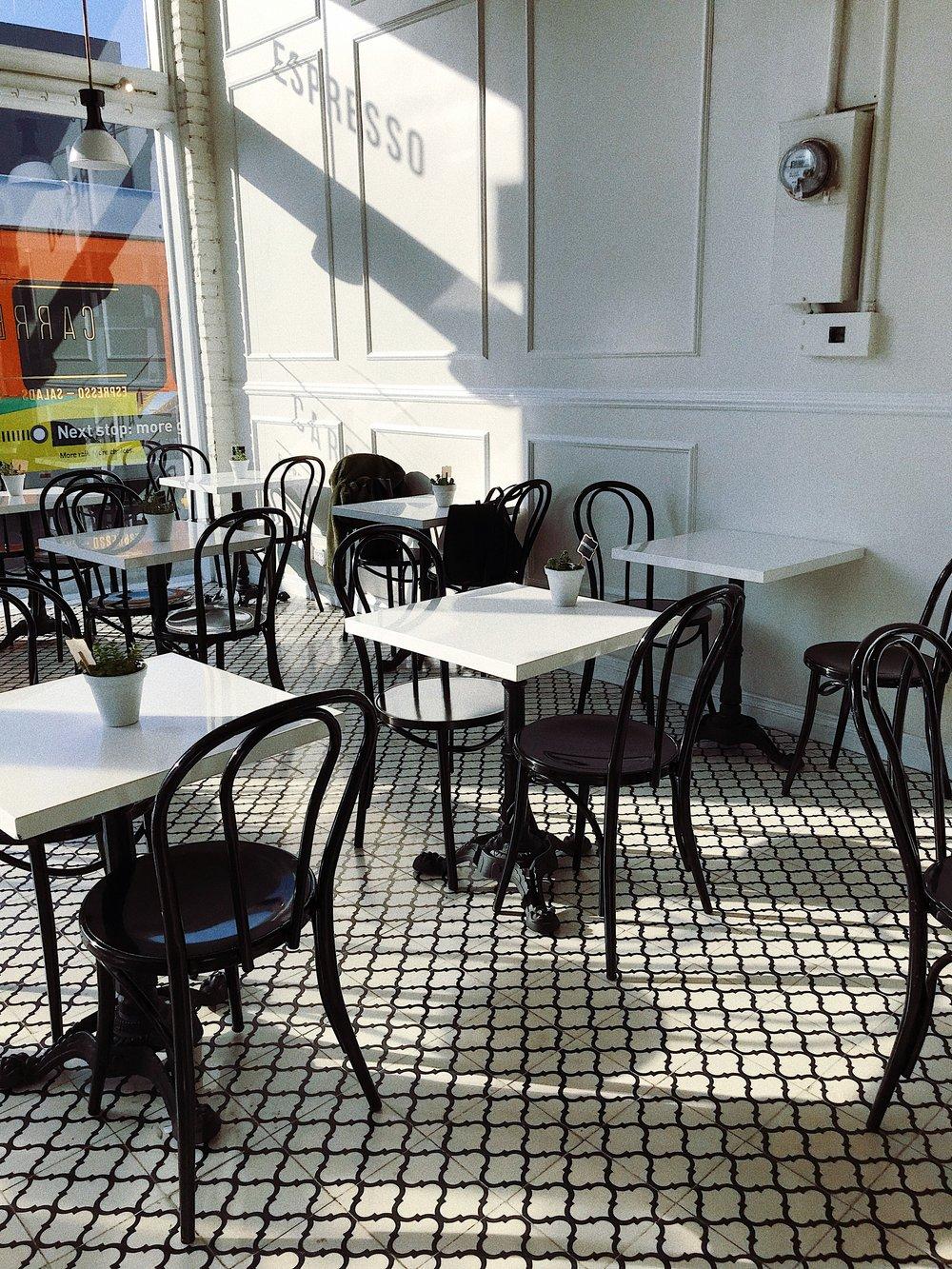 - Carrera Cafe, Melrose Ave