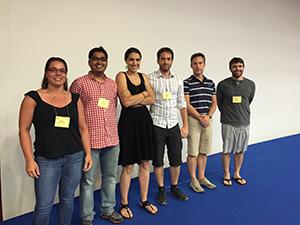 GRC Poster winners: Mary Colasanto (Kardon Lab), Mayank Verma, Nora Yucel, Nicolas Dumont, Joachim Berger, Micah Webster