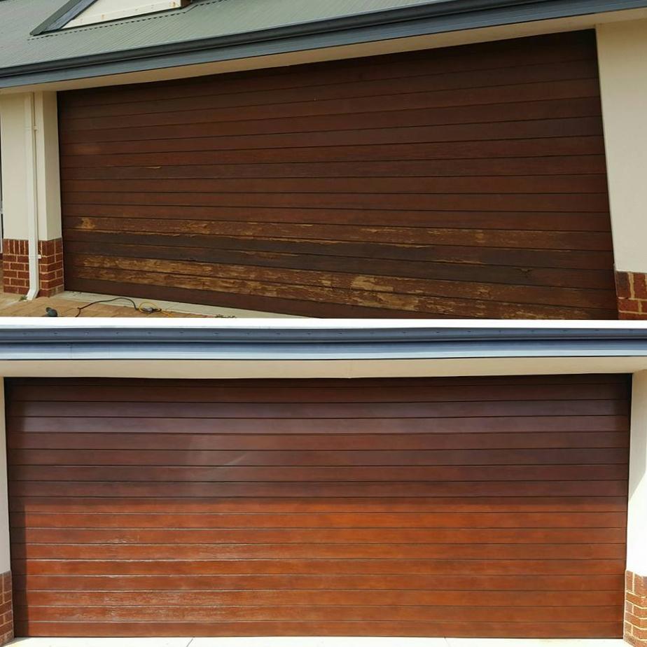 Timber Front Doors Melbourne: Merbau Entry Door & Light Oak Decking Oil On Merbau