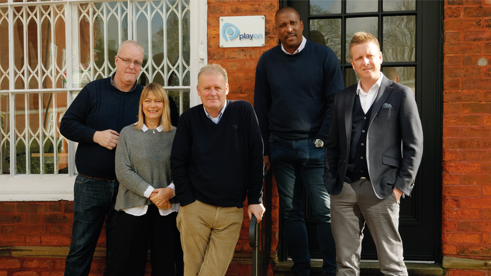 Team Media House (l-r): Martin, Fiona, Ken, Viv and Paul.