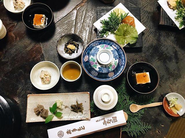 One of the best meals I've ever had  #mitakien #tottori #japan #food #restaurant #foodporn #みたき園 #食べ物 #鳥取 #智頭 #鳥取グルメ #鳥取カフェ