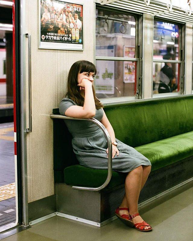 #電車の中 #神戸 #神戸電鉄 #japan #train #film #filmisnotdead #フィルム