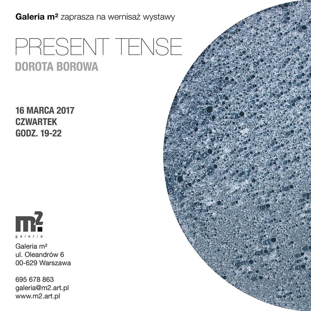 Dorota Borowa Present Tense Invite