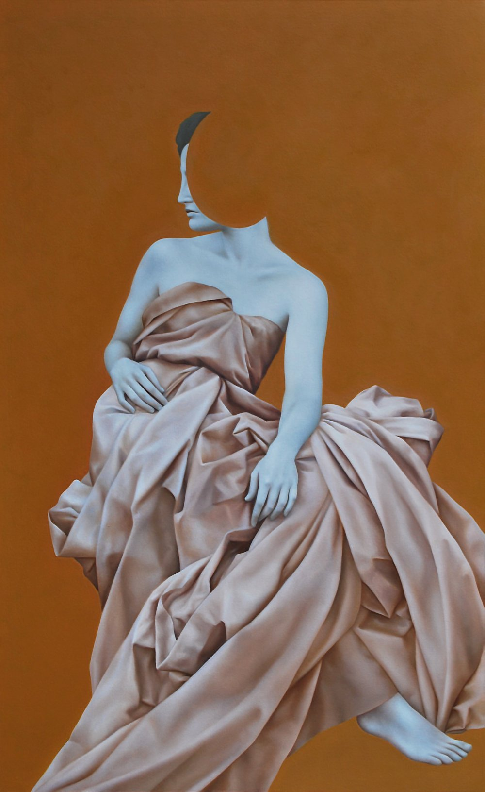 Koios Gold, oil on canvas, 160 x 100 cm, 2016