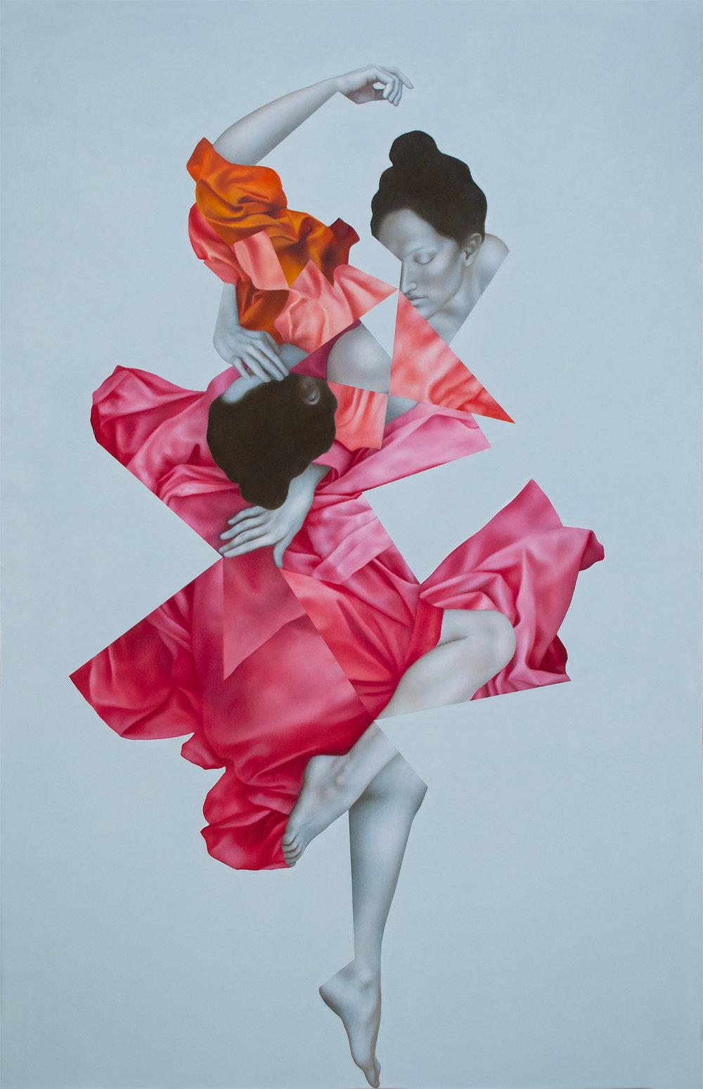 Erato Silver, oil on canvas, 170 x 110 cm, 2016