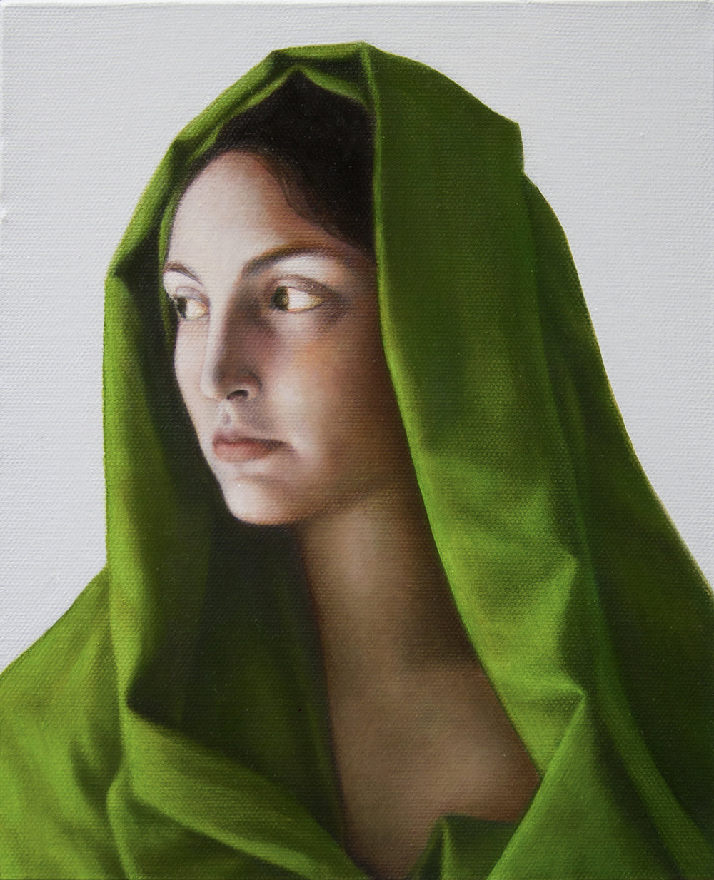 Penelope, oil on canvas, 25 x 20 cm, 2014