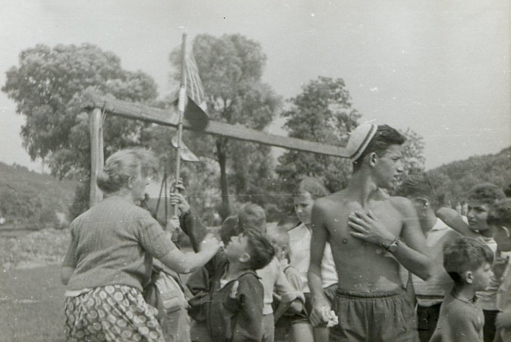 Farewell Ceremony in the Kingdom of Pipecland - ca. 1960, Bánk, Hungary