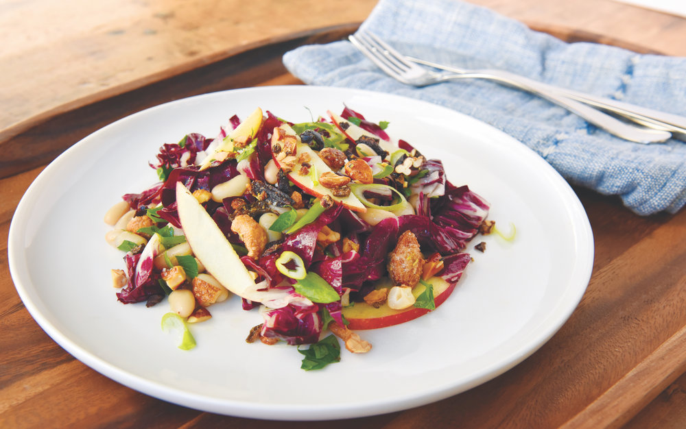 BOBBYSUE's NUTS OVER OLIVES RADICCHIO SALAD RECIPE
