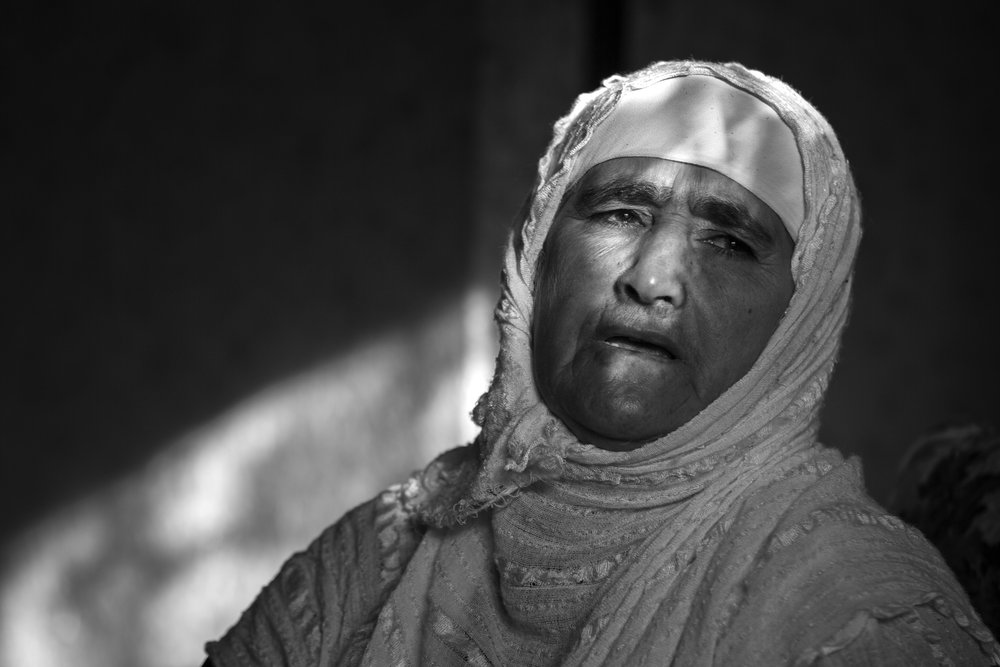 Askar Ali Hama Amin lost her husband and son were buried in mass graves by Saddam Hussein's forces.