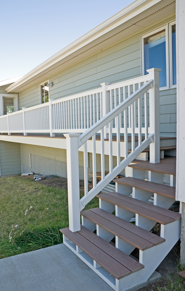 Composite Deck Arrow Exterior Design Madison Wisconsin Residential Commercial Contractor