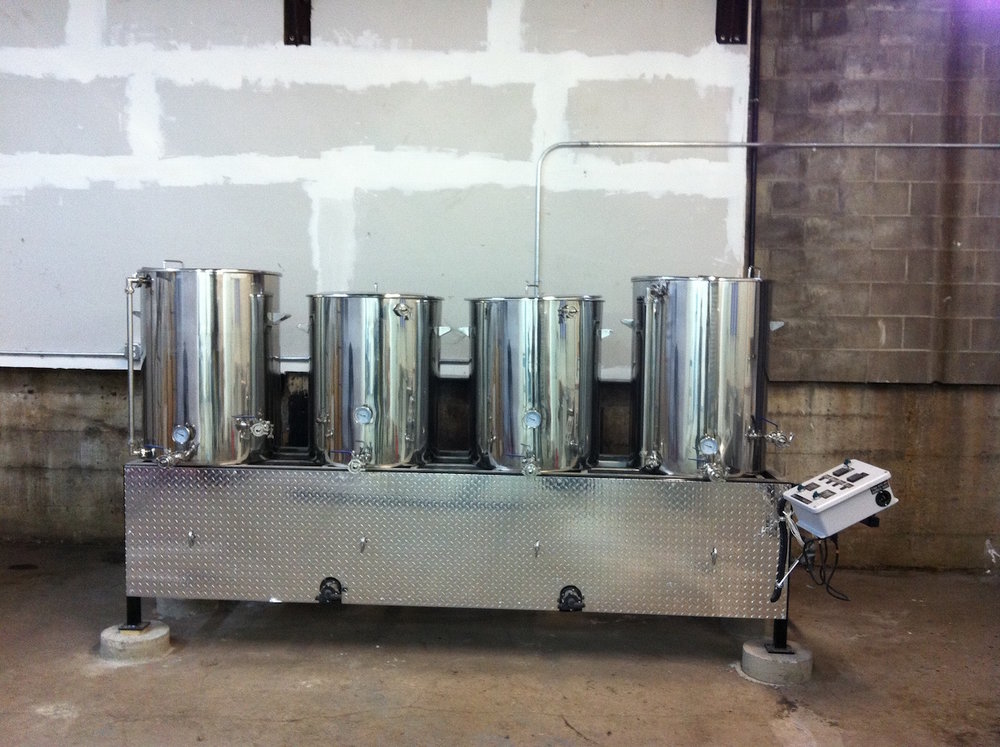 Our Original 3.5BBL Brewing System