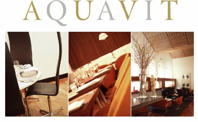 Aquavit Restaurant, New York