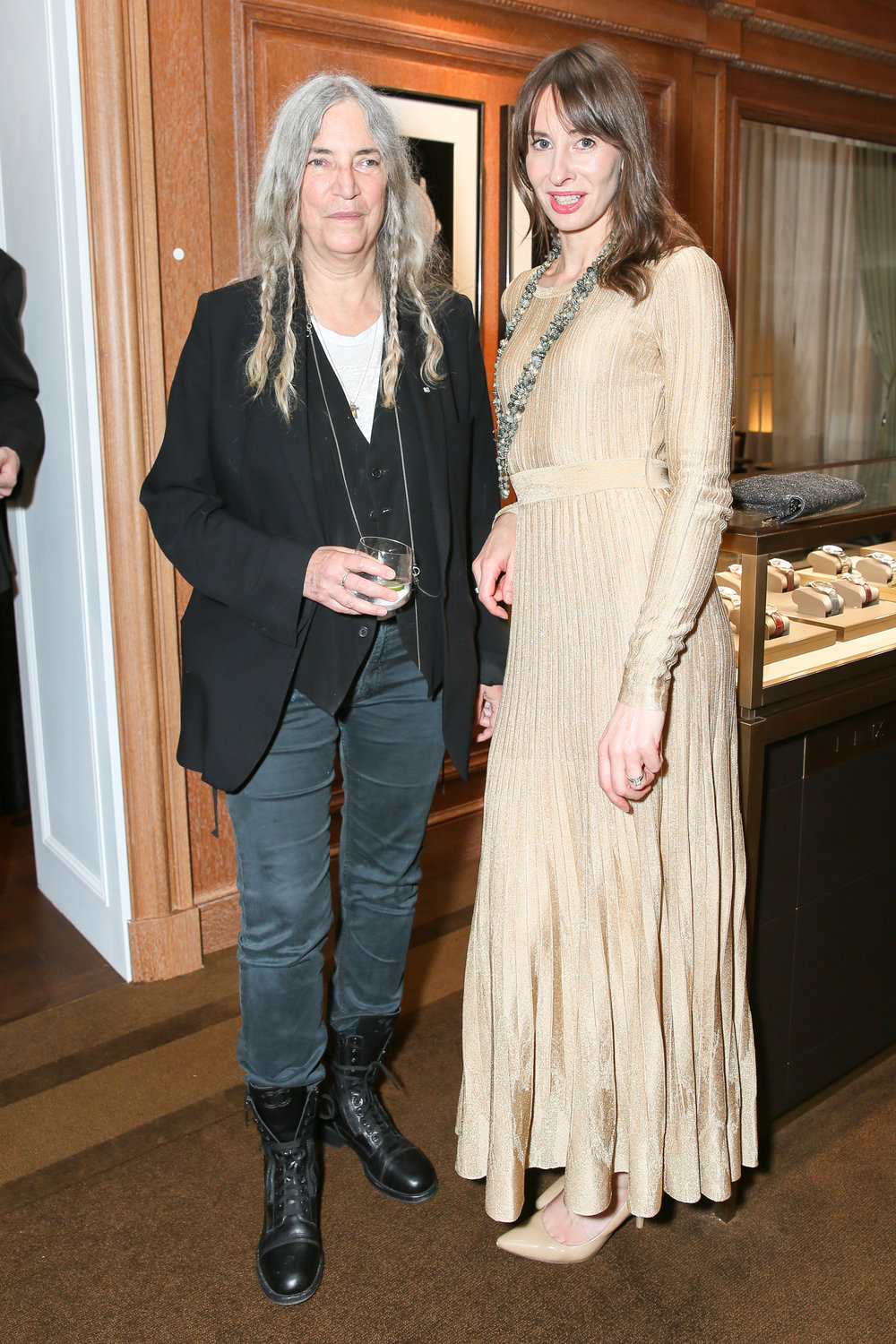 Patti Smith and Kathia (in Chanel).jpg