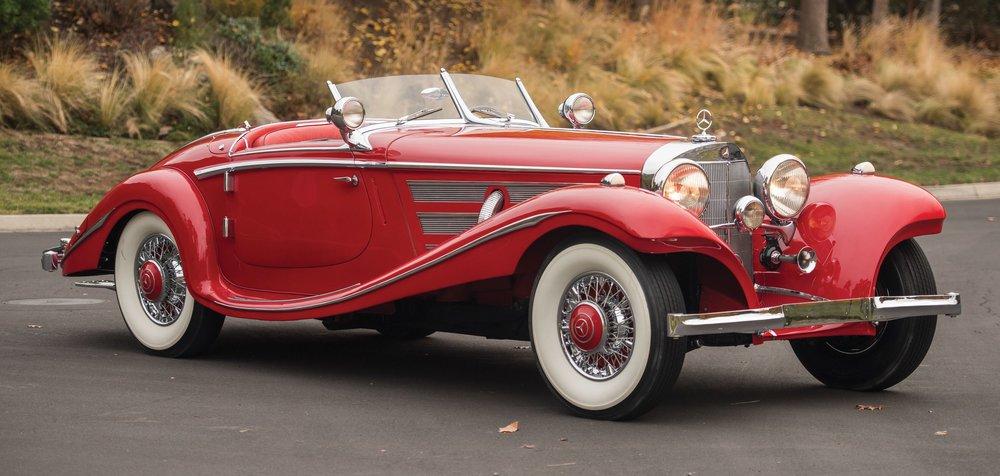 10. MERCEDES BENZ 540 K Special Roadster by Sindelfingen. 1937. $9,900,000US