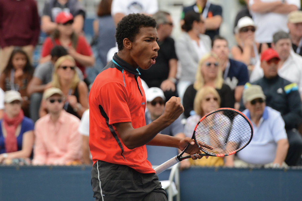 Felix Auger-Aliassime © Christopher Levy