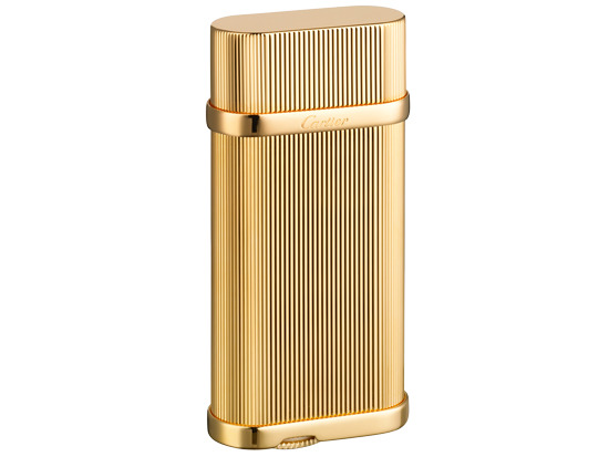 CARTIER GODRONS DECOR LIGHTER