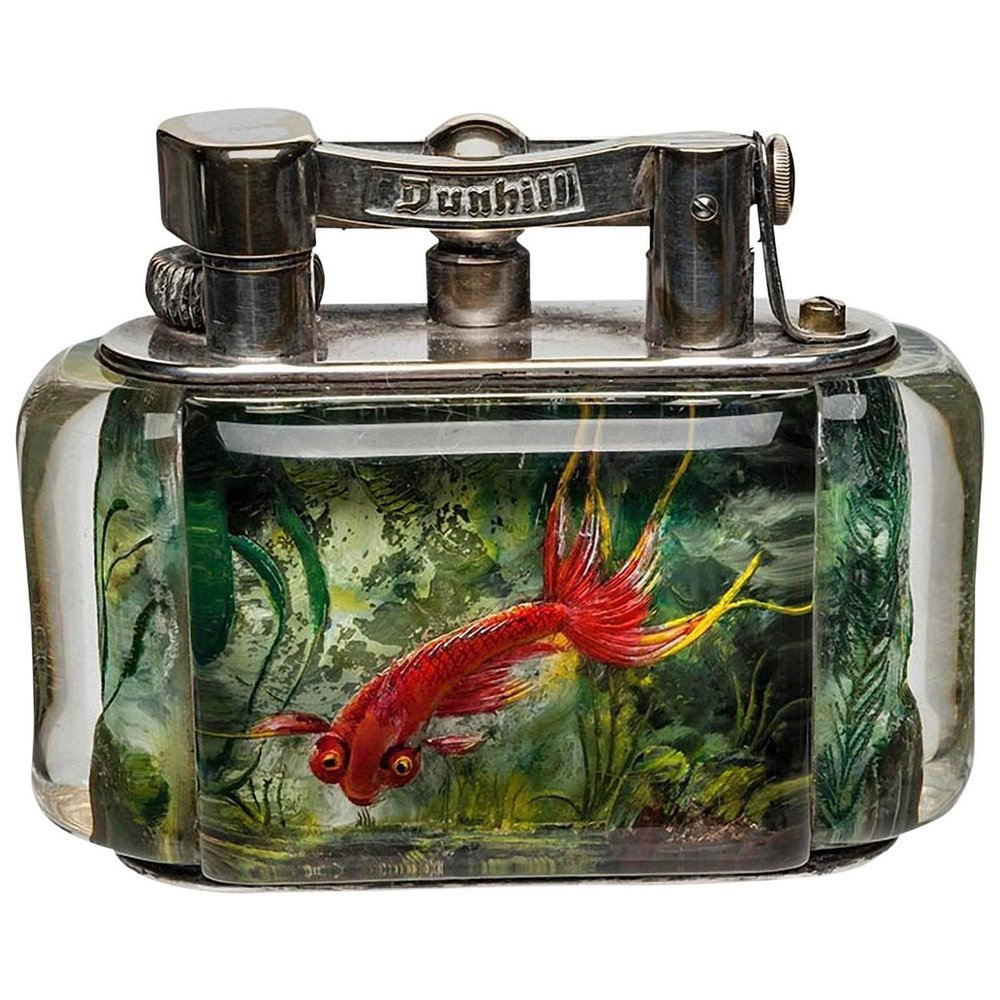 Dunhill Aquarium Table Lighter