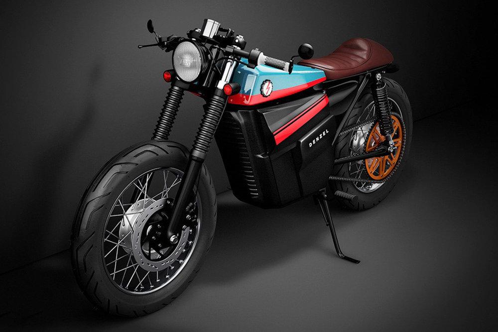 Next Electric Honda Cafe Racer By Denzel Dtkmen