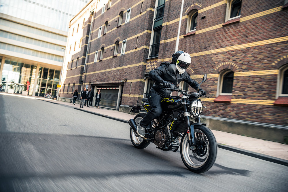 Vitpilen 401 Photograph by Husqvarna Motorcycles