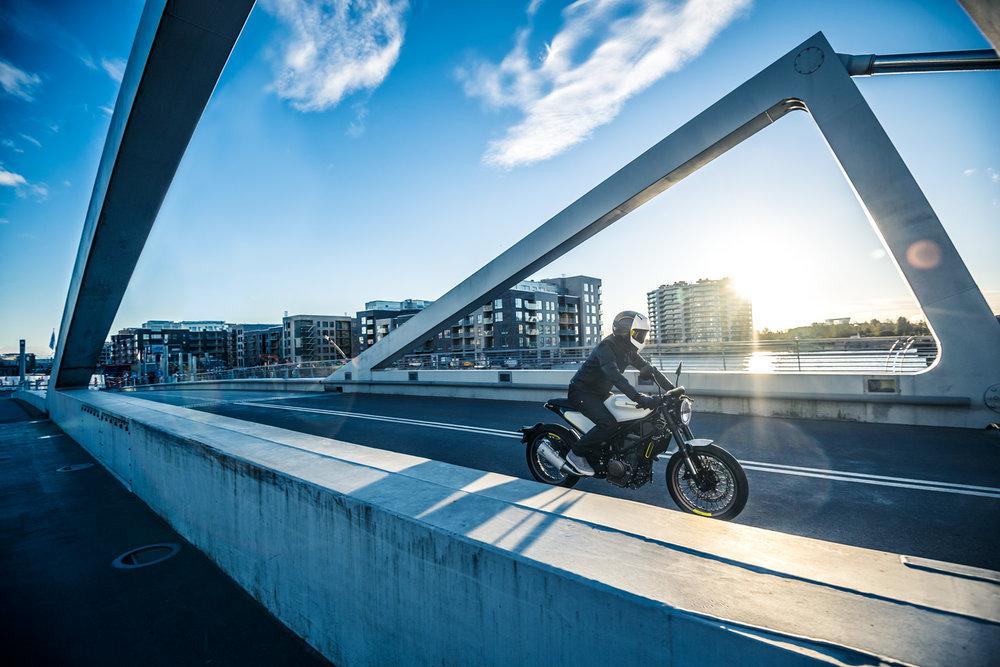 Vitpilen 401 photograph via Husqvarna Motorcycles