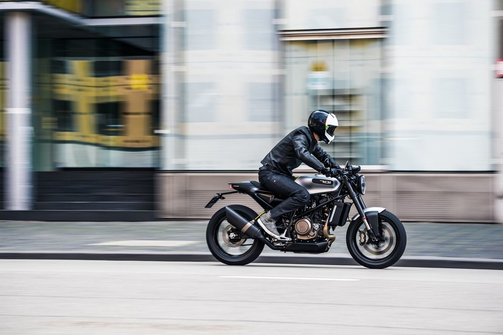 Vitpilen 701 via Husqvarna Motorcycles
