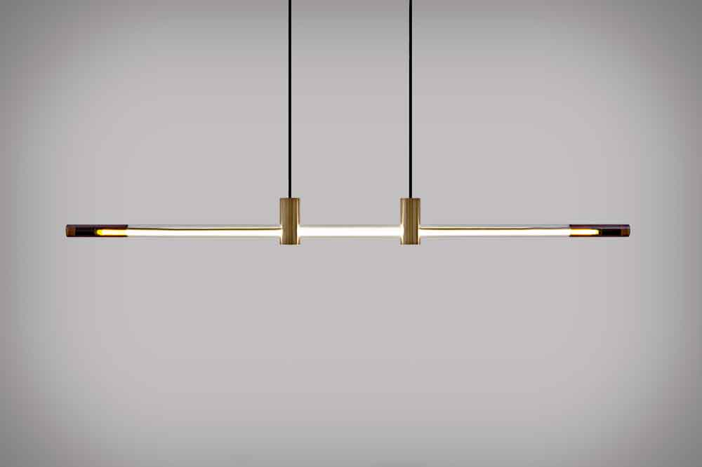D'ARMES RA Line Pendant Light ($2,900).