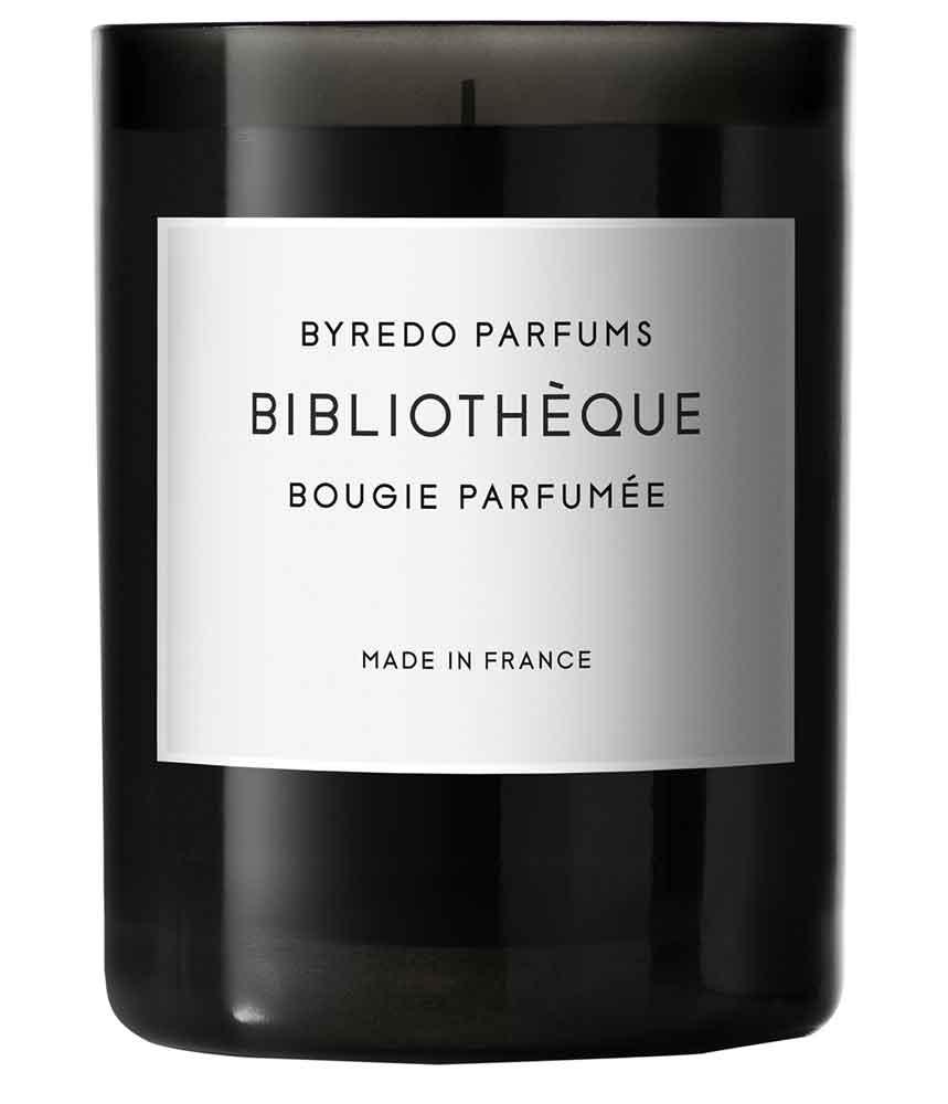 BYREDO  Bibliothèque Bougie Parfumée ($108) at HOLT RENFREW.