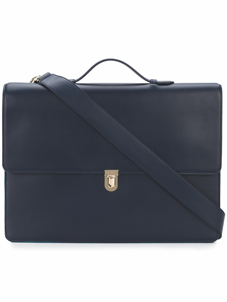 PAUL SMITH - Foldover Laptop Bag ($1,909) at FARFETCH