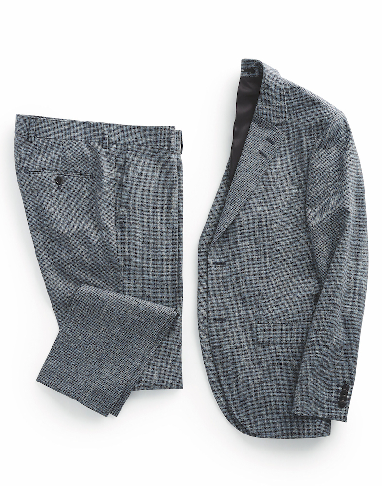 TIGER OF SWEDEN - Heather Micro-Check Lamonte Suit Slim Fit ($1,000) at SIMONS