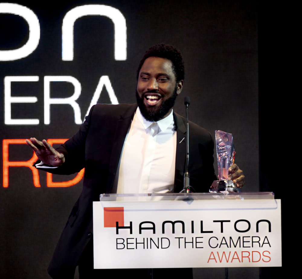 Hamilton Behind the Camera Awards 2018 - John David Washington - On stage.